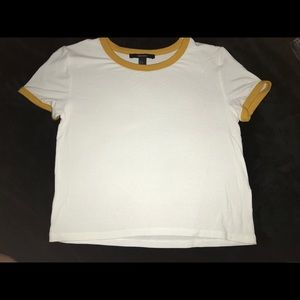 Forever 21 cropped tee